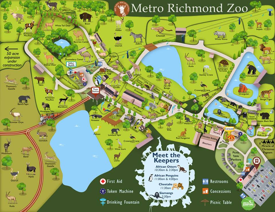 Spring Break Ideas Part III: Richmond MetroZoo